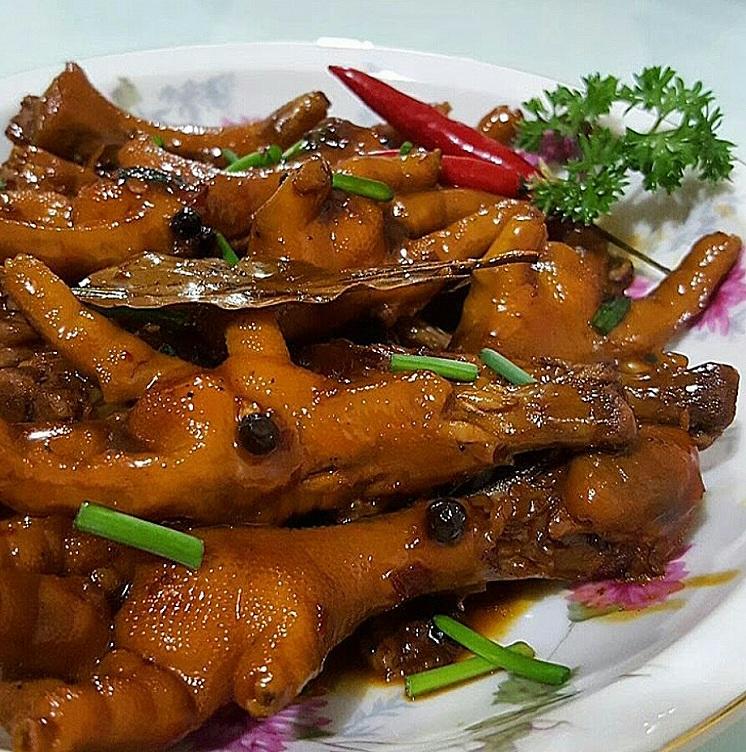 Chicken Feet Adobo Adobong Adidas