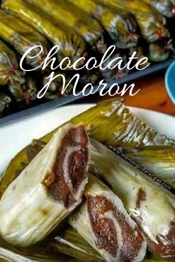 Chocolate Suman Moron