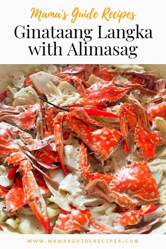 Ginataang Langka with Alimasag