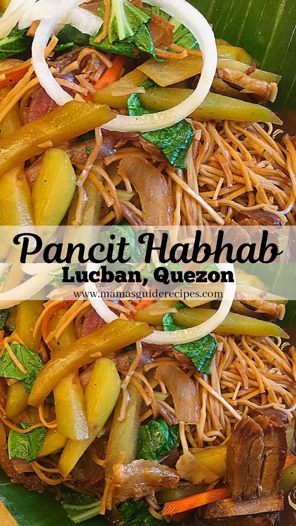 Pansit Habhab