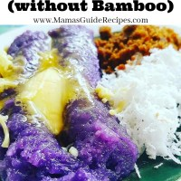 Puto Bumbong (without Bamboo)