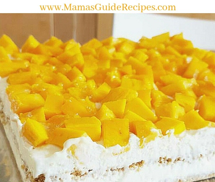 Mango Graham Float