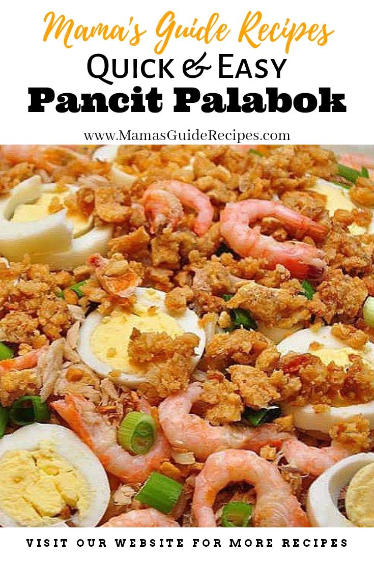 Quick and Easy Pancit Palabok