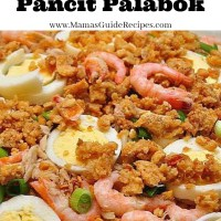 Quick and Easy Pancit Palabok