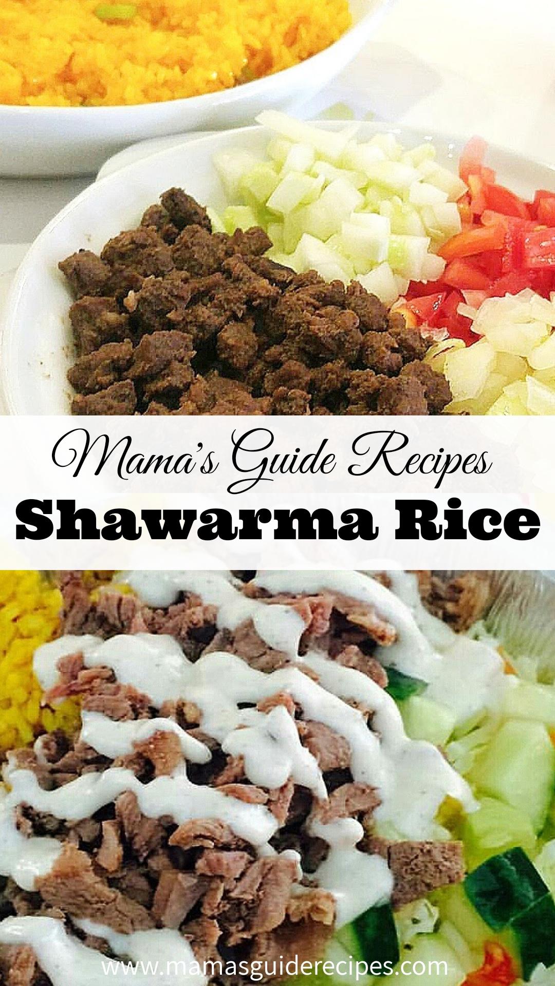 Shawarma Rice Recipe