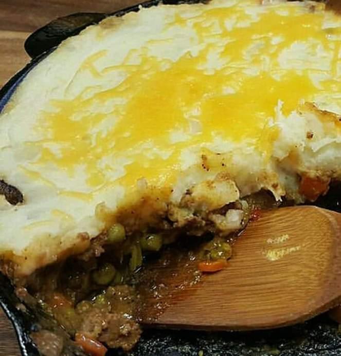 Delicious American Shepherd's pie