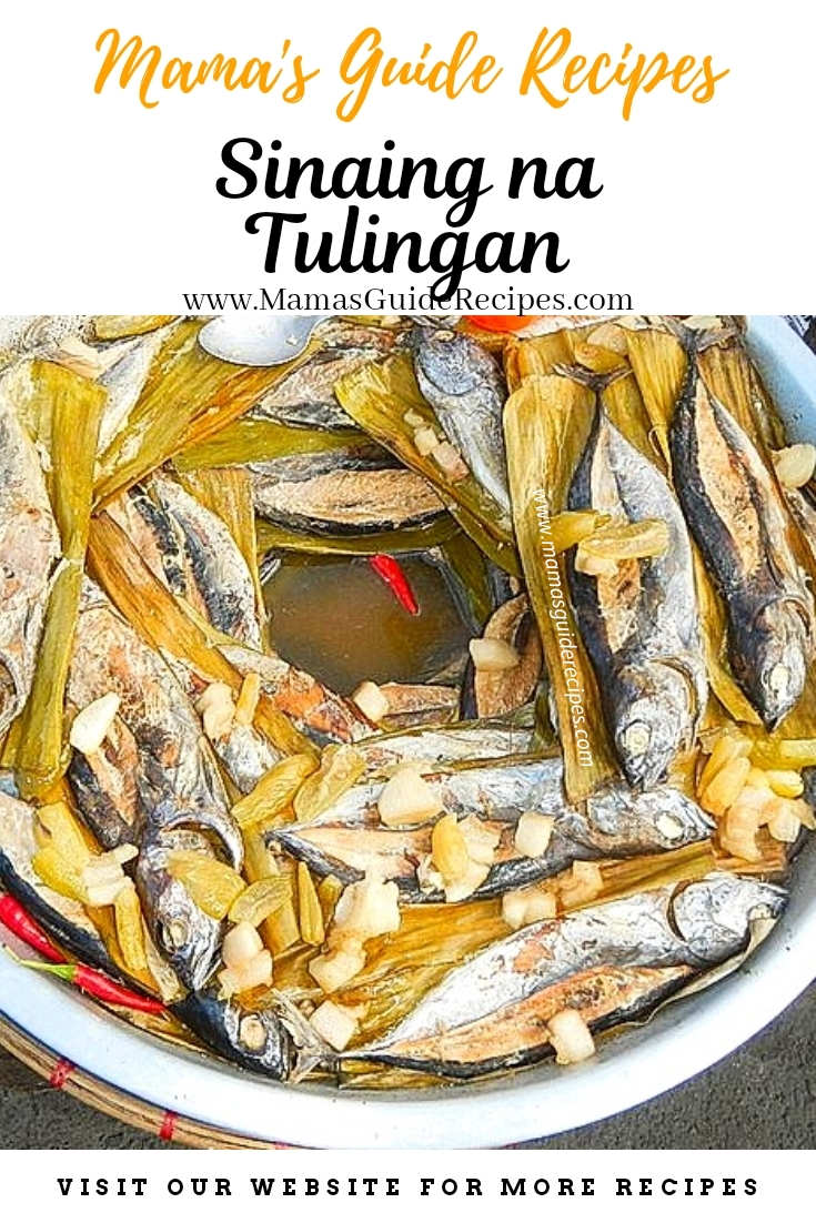 Sinaing na Tulingan Recipe