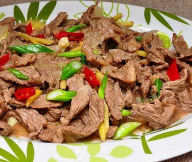 Imbaliktad A Baka (Ilocano Stir-fry Beef)