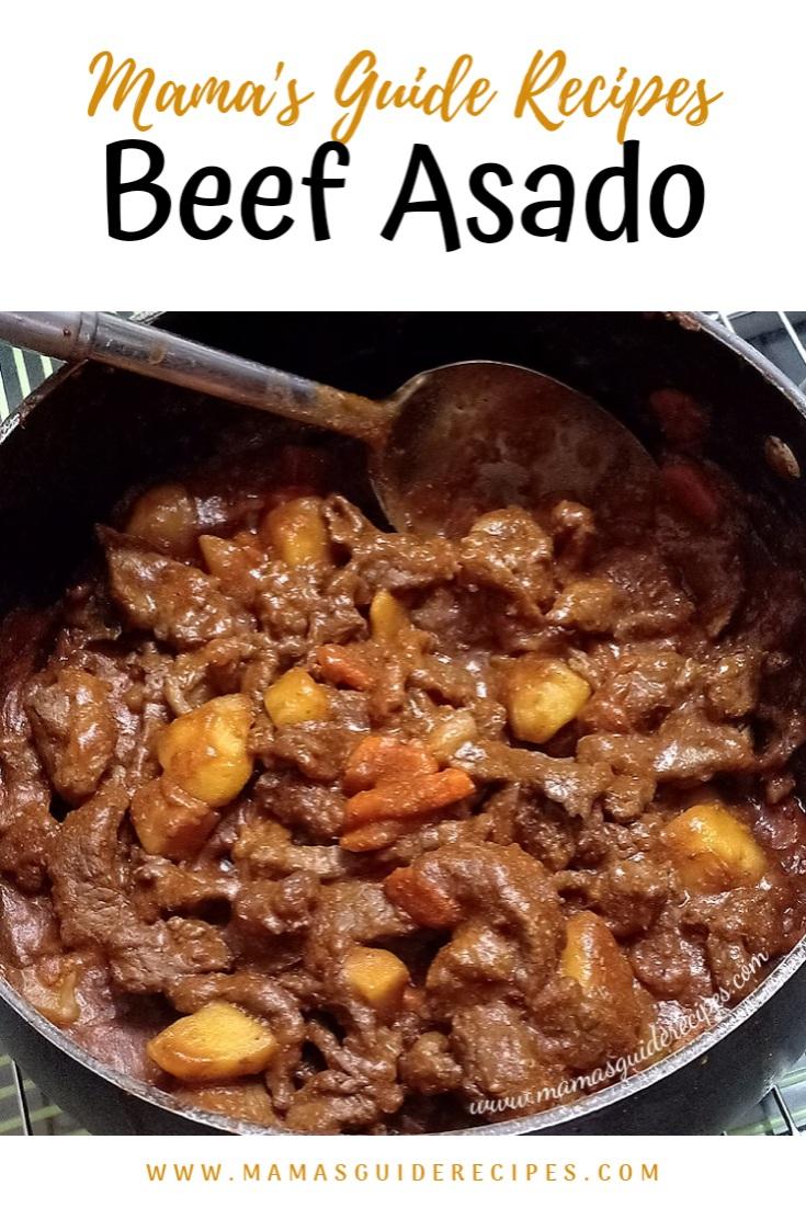 Beef Asado Recipe