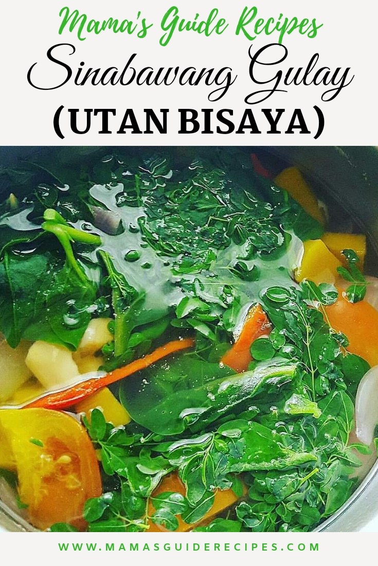 SINABAWANG GULAY (UTAN BISAYA)
