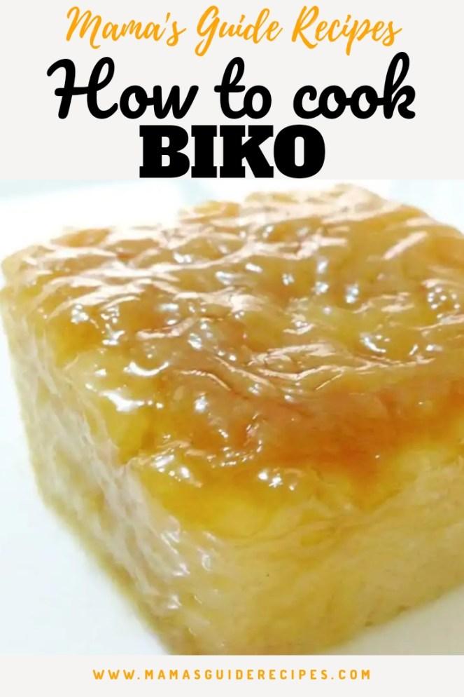 How to cook Biko