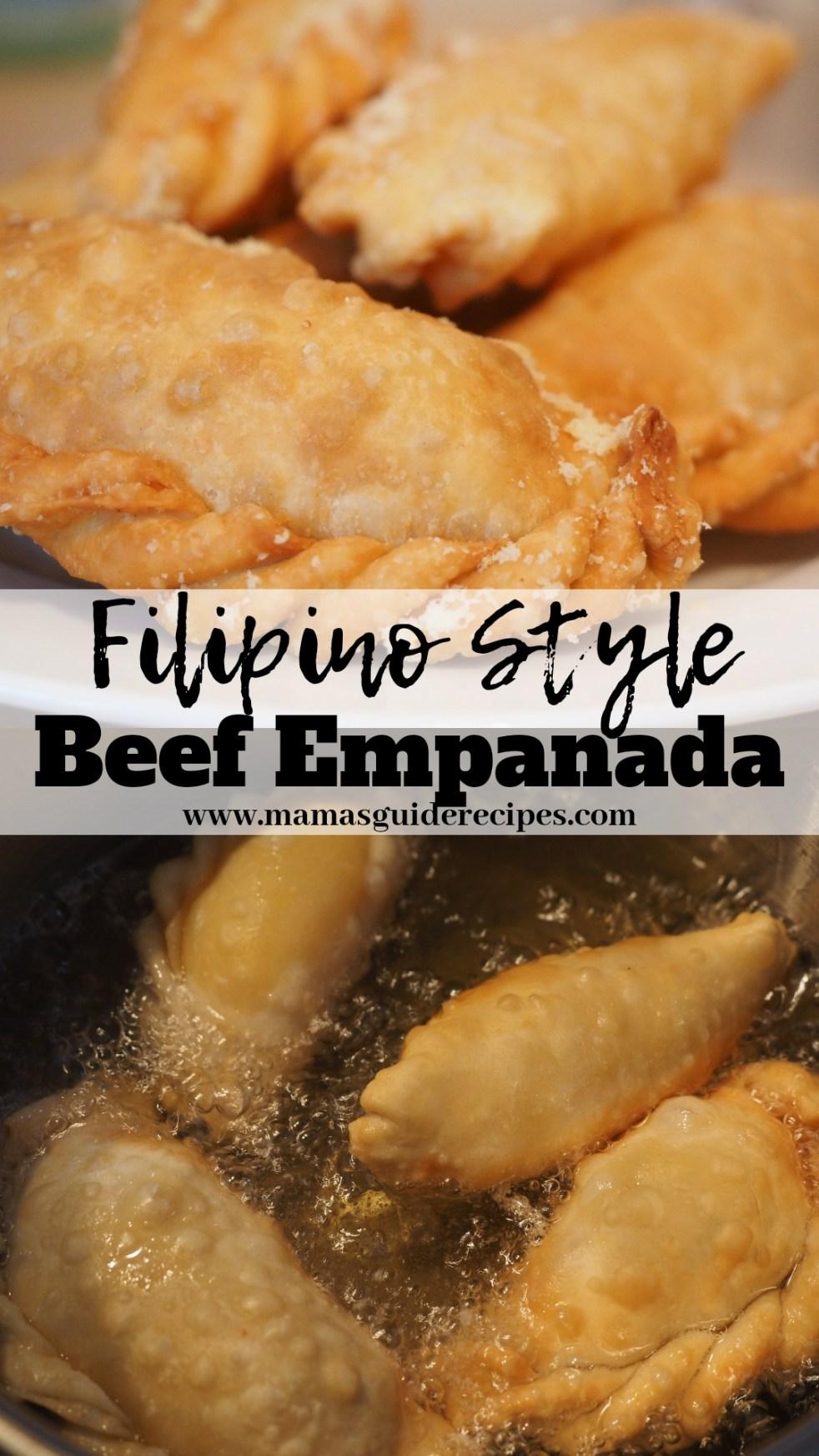 Beef Empanada Recipe Panlasang Pinoy Mama S Guide Recipes