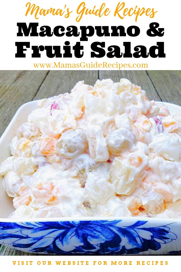 Macapuno and Fruit Salad