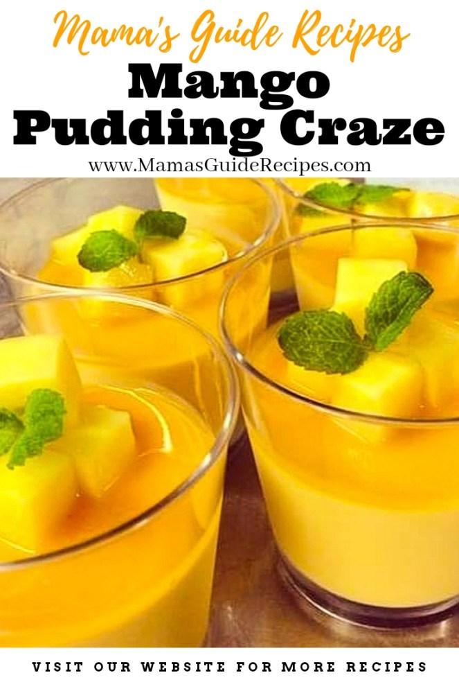 Mango Pudding Craze