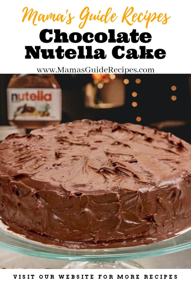 Chocolate Nutella Cake