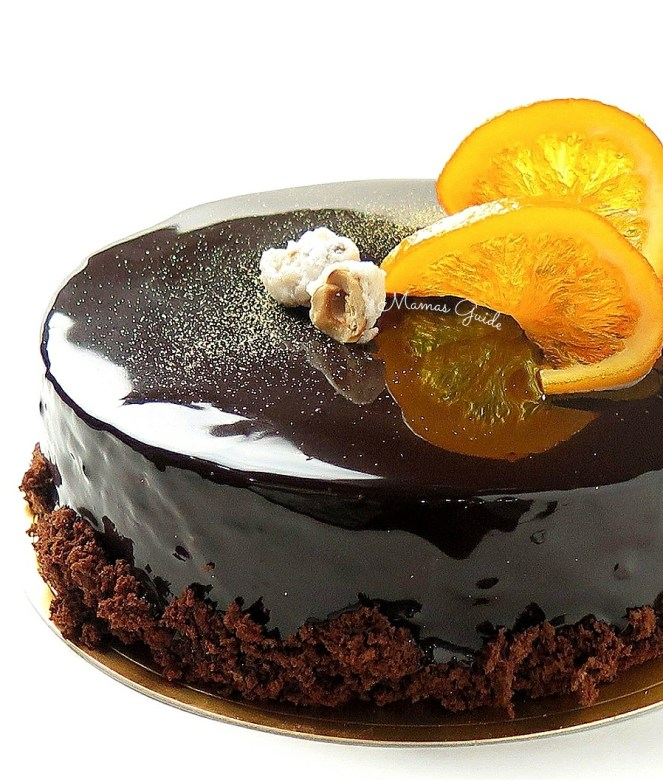Chili Orange Dark Chocolate Cake - Mama's Guide Recipes