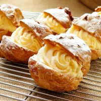 Creme Puff Recipe with Vanilla Cream Filling