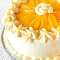 Buttercream Mango Cake