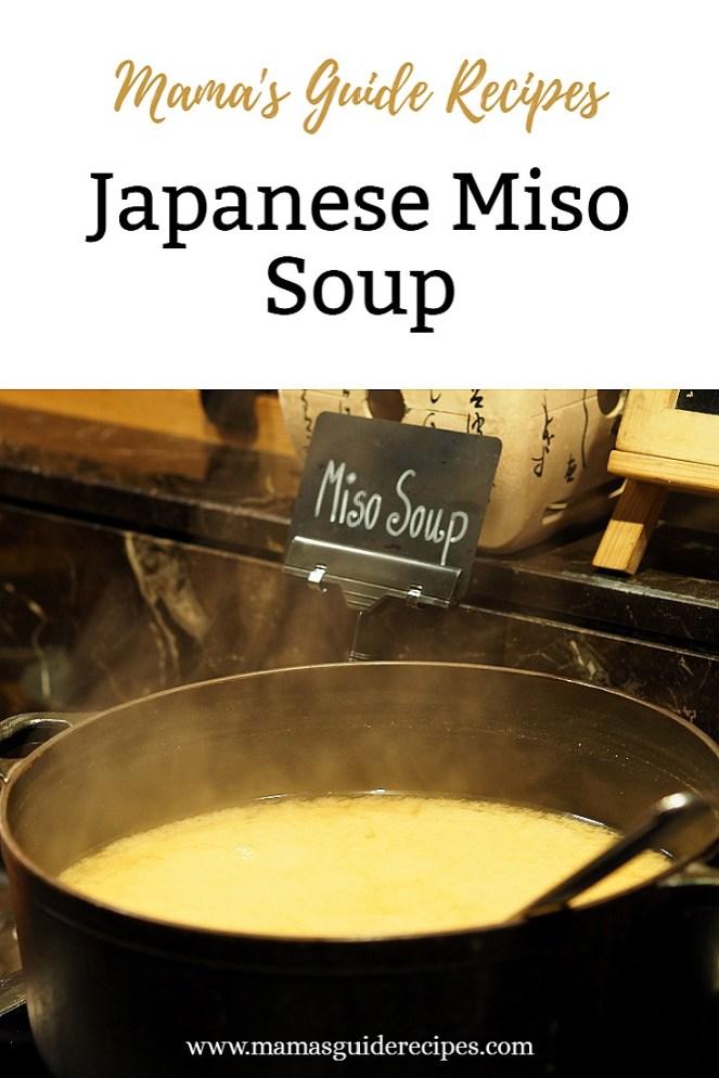 Japanese Miso Soup