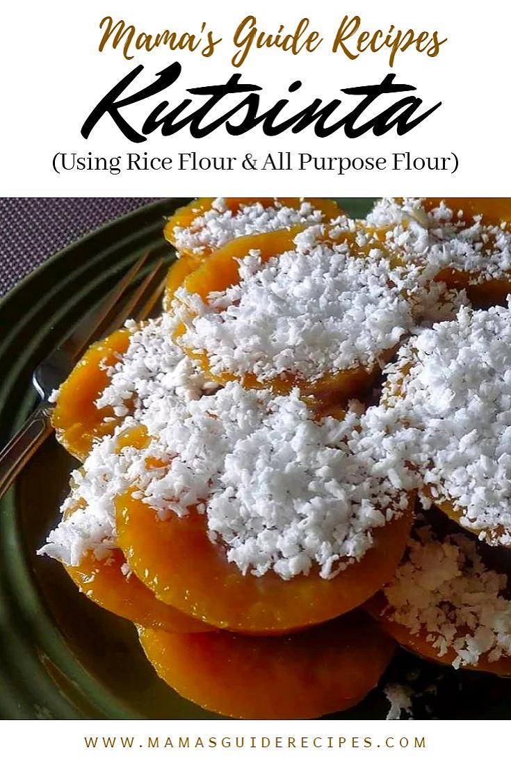 Kutsinta Using Rice Flour All Purpose Flour Mamas Guide Recipes