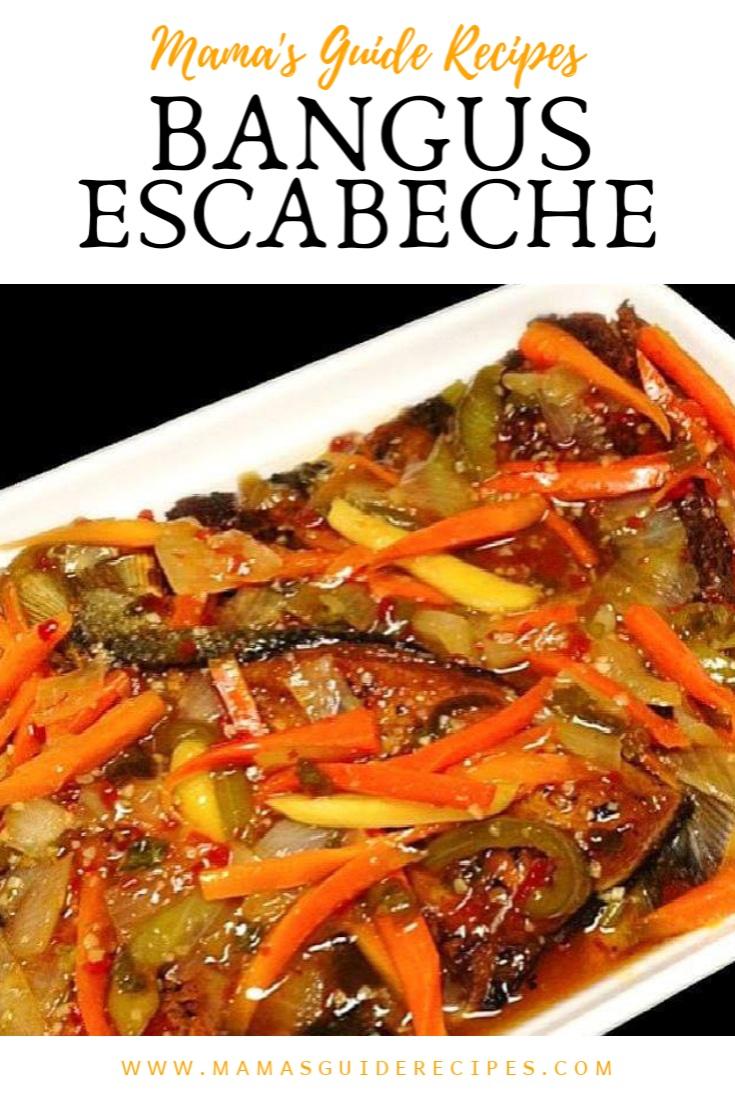 Bangus Escabeche Mama S Guide Recipes