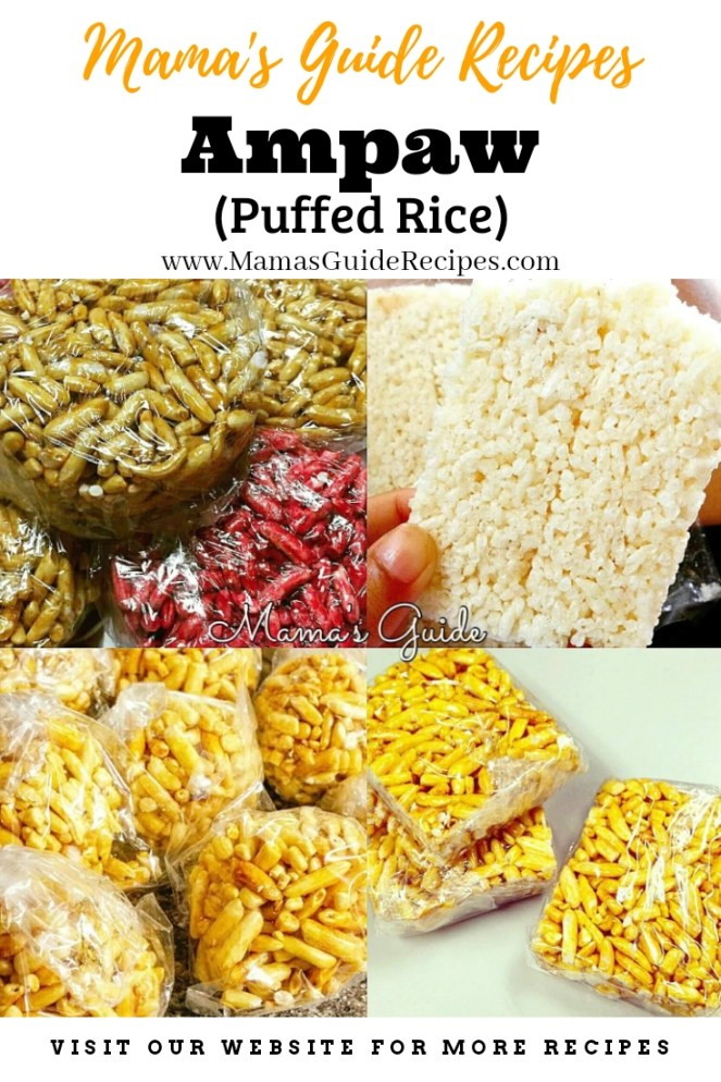 Ampaw (Puffed Rice)