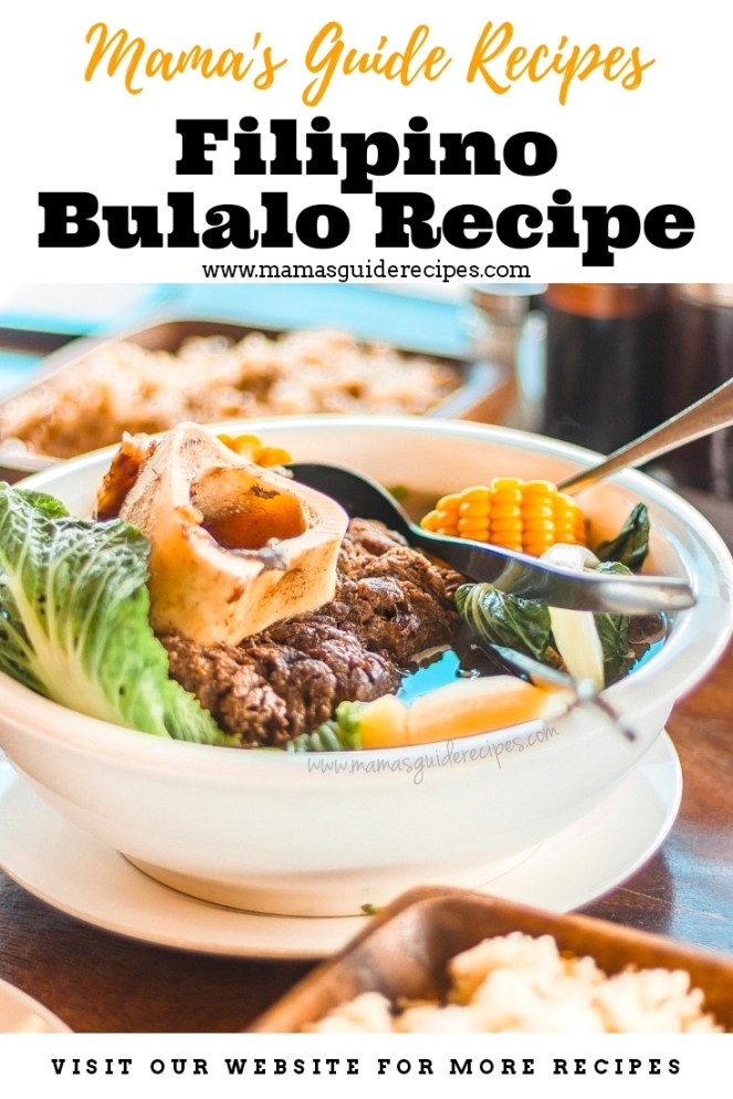 FILIPINO BULALO RECIPE