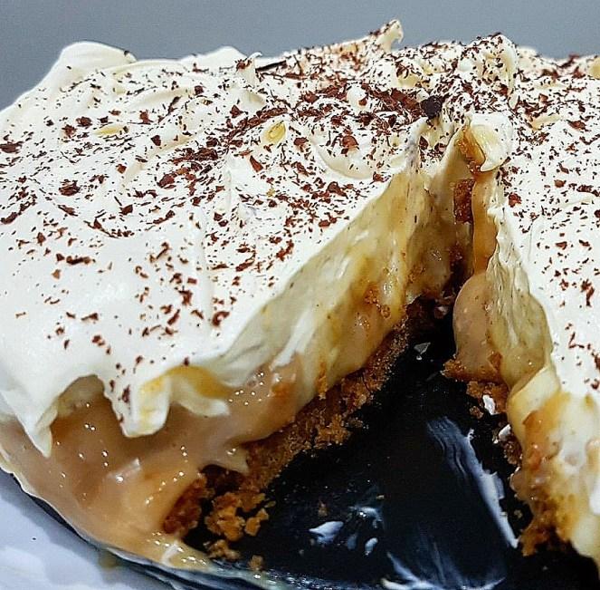 Banoffee Pie with Dulce de Leche