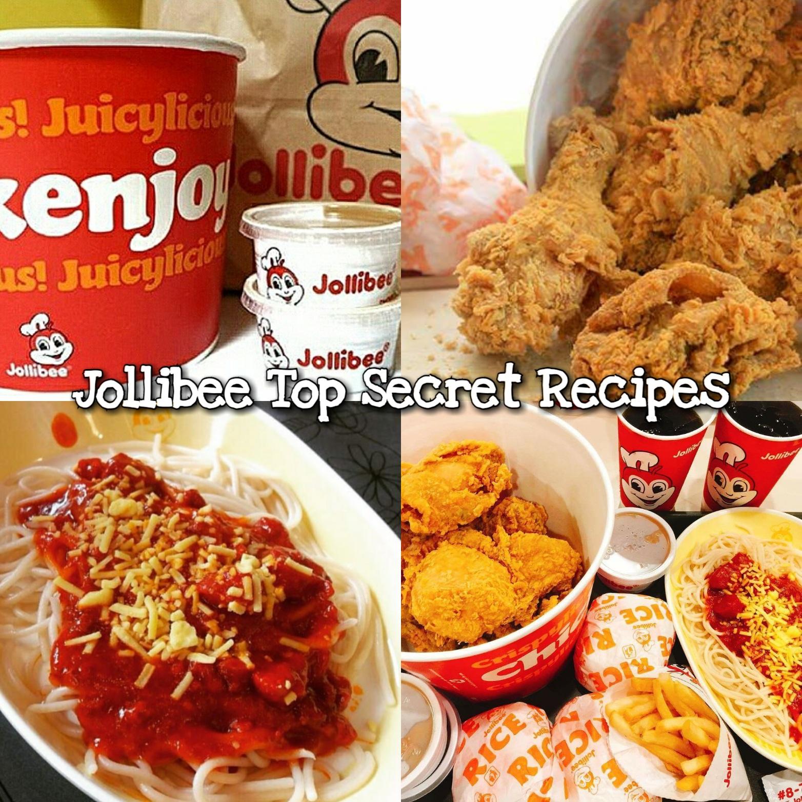 Jollibee Top Secret Recipes Mama S Guide Recipes