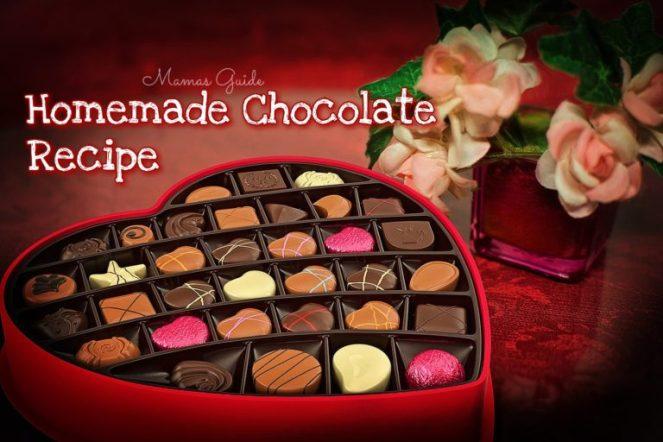Homemade Chocolate Candy Recipe