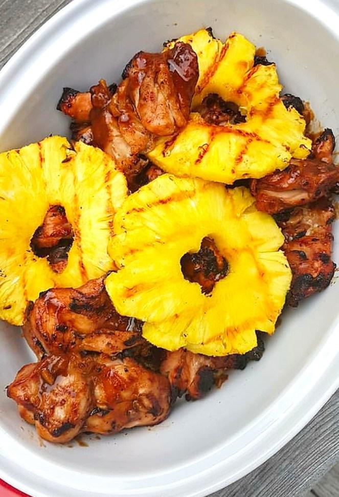 Hawaiian BBQ Chicken, huli huli chicken