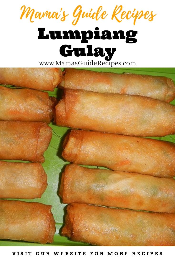 Lumpiang Gulay