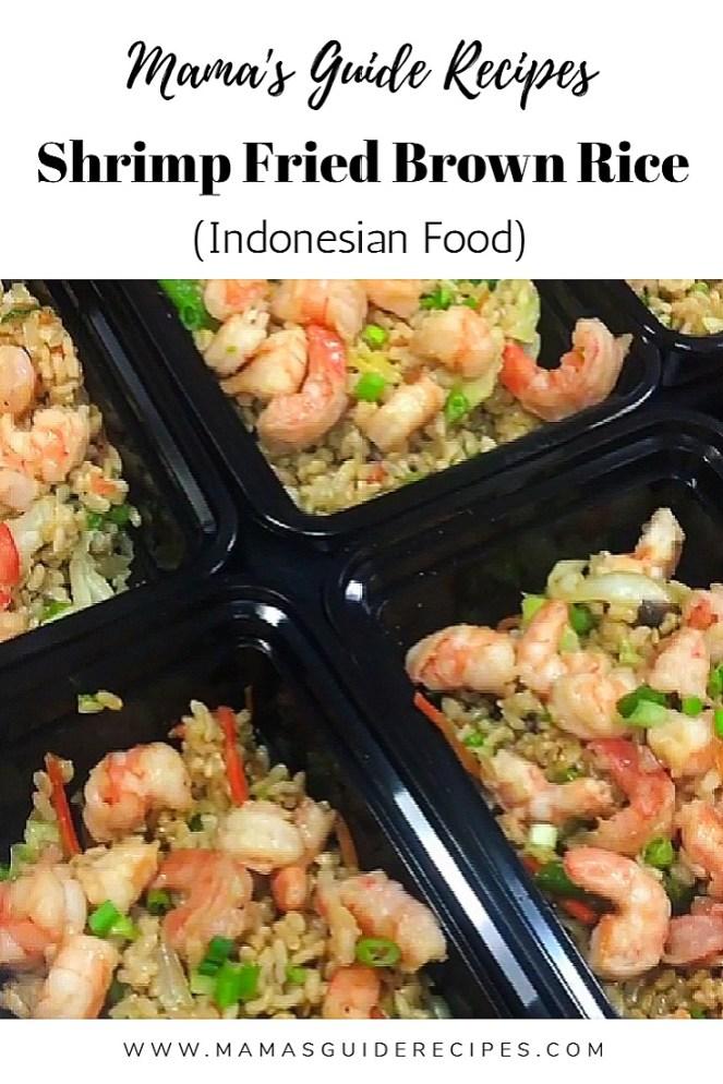 Shrimp Fried Brown Rice (Indonesian)