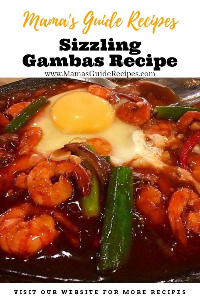 Sizzling Gambas Recipe