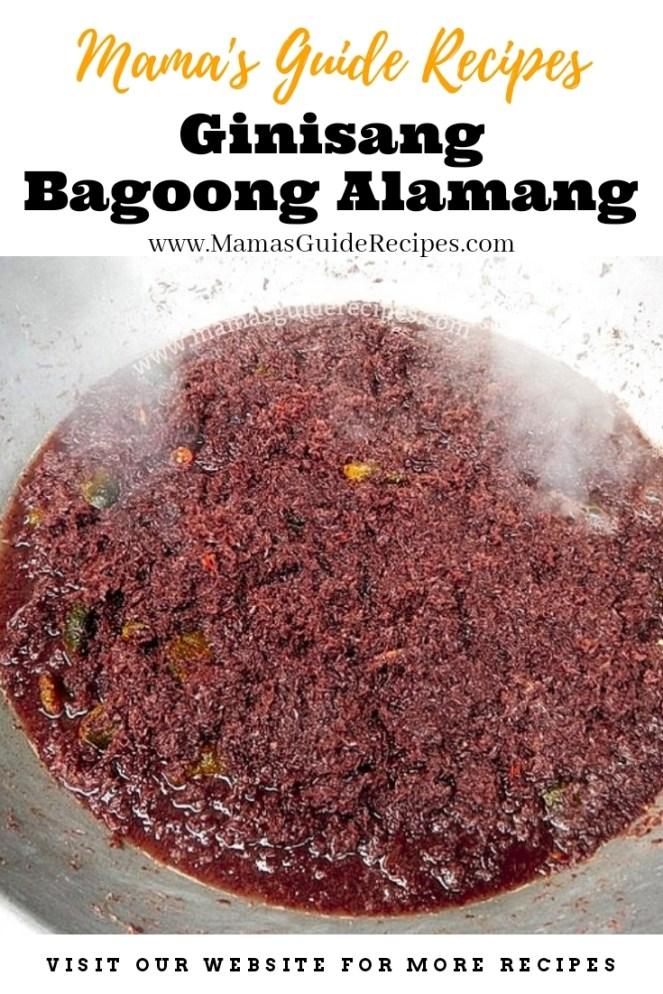 Ginisang Bagoong Alamang