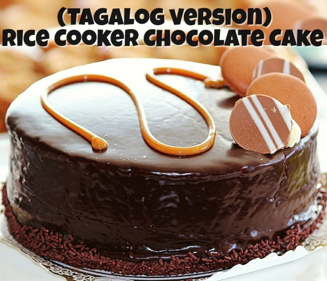 Rice Cooker Chocolate Cake