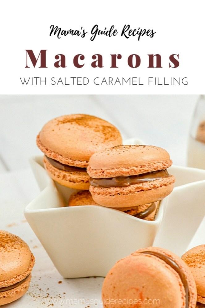 MACARON RECIPE WITH SALTED CARAMEL FILLING