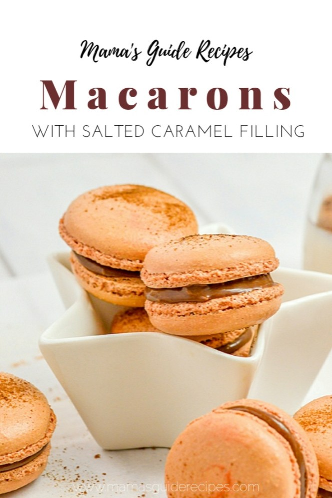 MACARON RECIPE WITH SALTED CARAMEL FILLING
