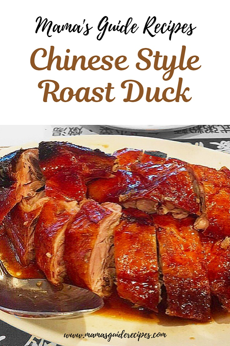 Chinese Style Roast Duck
