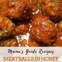 MEATBALLS IN HONEY BUFFALO SAUCE