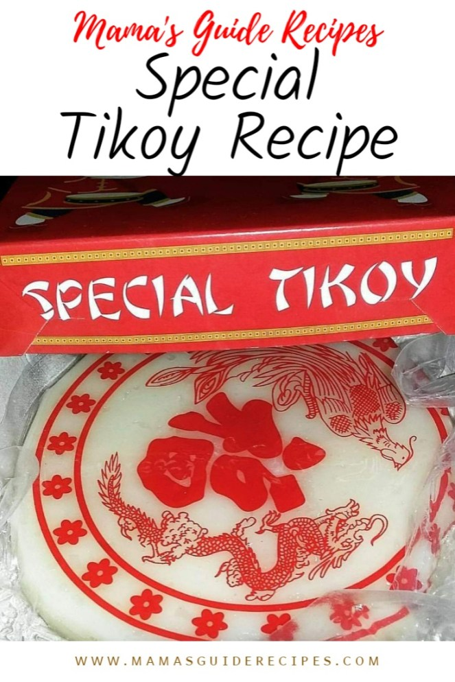 Homemade Tikoy Recipe