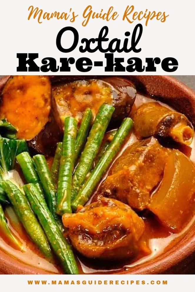 Oxtail Kare-Kare Recipe