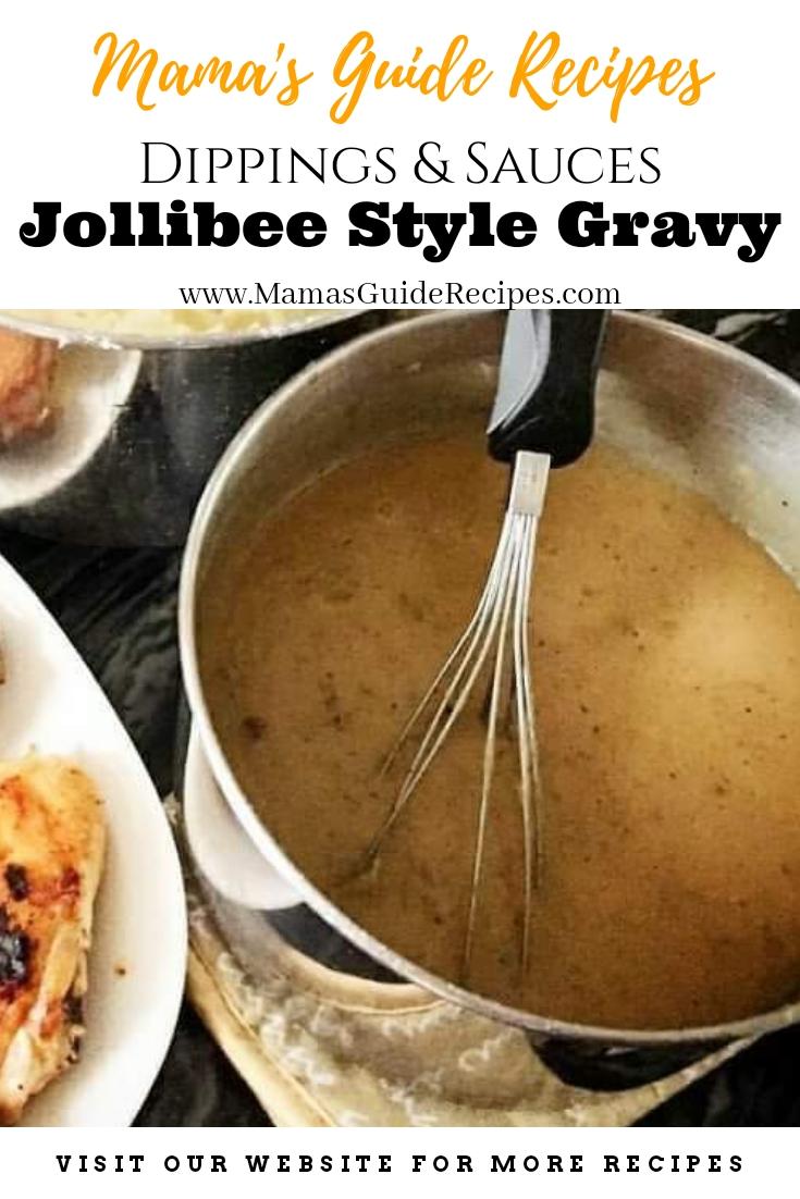Jollibee Style Gravy