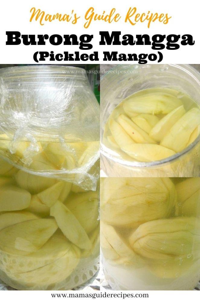 Burong Mangga (Pickled Mango)