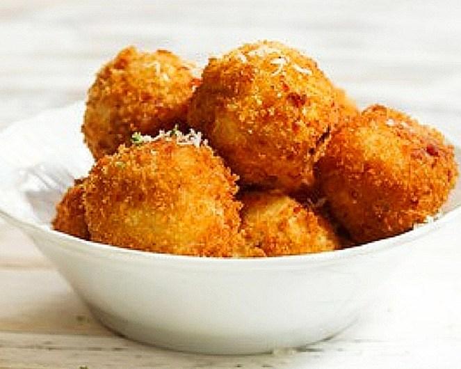 Cheesy Potato Balls