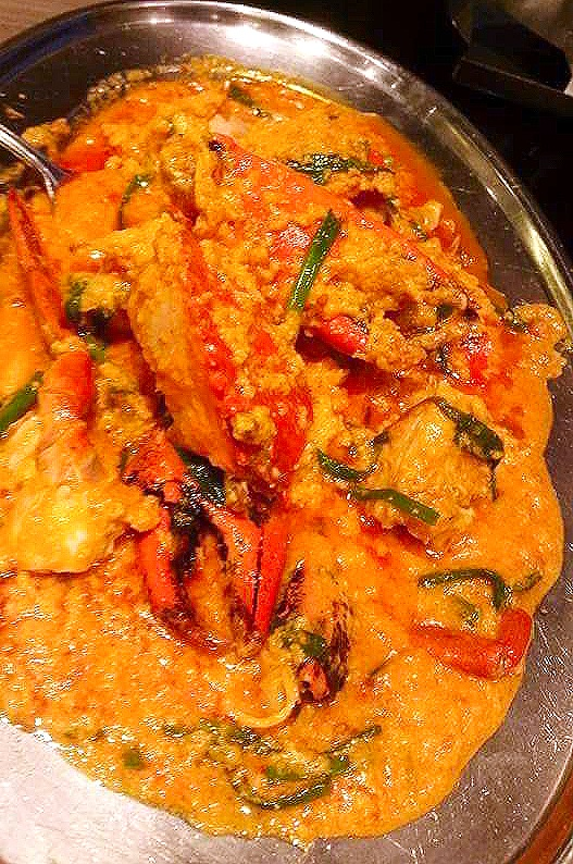 Mama's Crab Curry (Indian Food)
