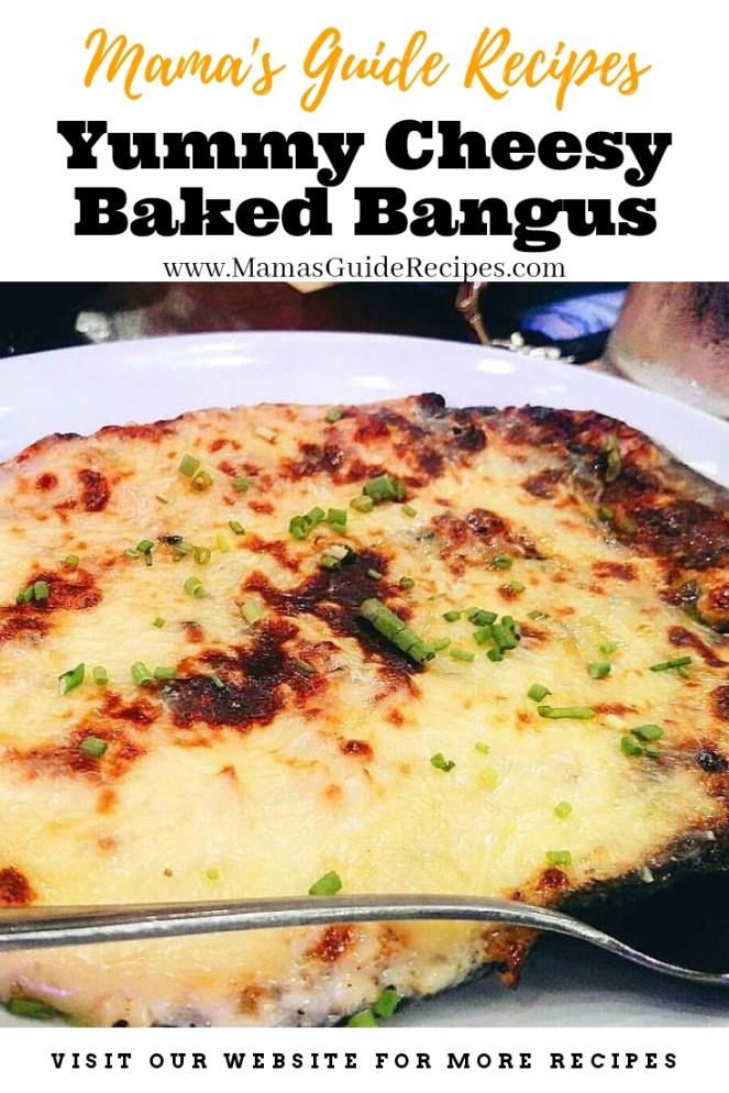 Yummy Cheesy Baked Bangus (Milkfish)