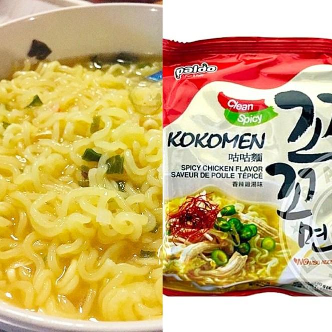 Paldo Kokomen Spicy Chicken Flavor