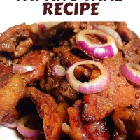 TAPANG TAAL RECIPE