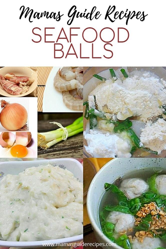 Seafood Balls Recipe